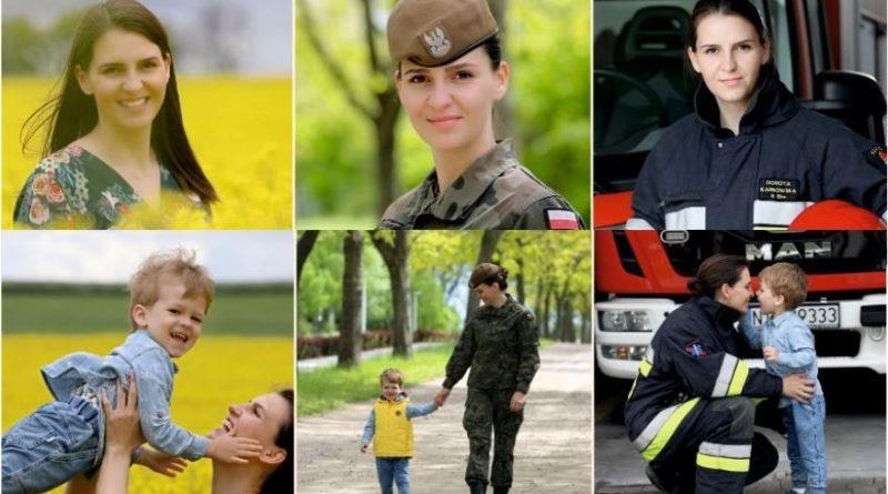Starszy szeregowy Dorota Karbowska - Mama w mundurze