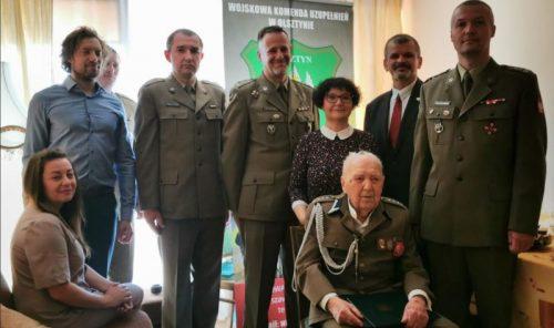 Kombatanci Armii Krajowej mianowani na wyższe stopnie - Henryk Krzyszczak