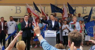 Rafał Trzaskowski w Olsztynie - 20.06.2020 - fot. S. Olsztyn