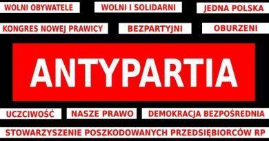 Antypartia - Nowa partia