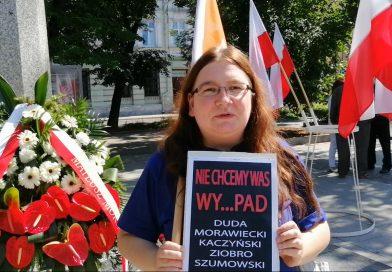 Marta Kamińska - Olsztyn nie popiera Andrzeja Dudy - 04.07.2020 - fot. S. Olsztyn
