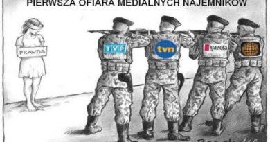 PRAWDA - Pierwsza ofiara medialnych najemników - 2020