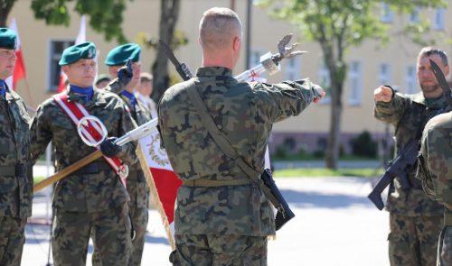 Przysięga Terytorialsów w Morągu 4WMBOT 19.07.2020 - fot. 4WMBOT