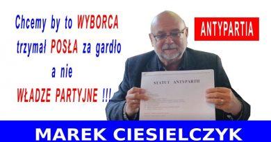 Marek Ciesielczyk - Antypartia - 20.09.20