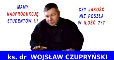Ks. dr Wojsław Czupryński z UWM