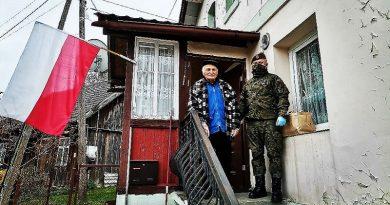 Terytorialsi wspomagają kombatantów - fot. WOT