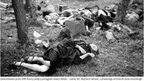 Zamordowani przez UPA - fot. Wojciech Iwulski