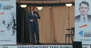Sławomir Mentzen w Olsztynie - 25.08.2020
