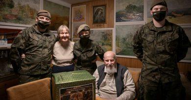 świąteczne paczki i wigilijne zestawy dla Kombatantów