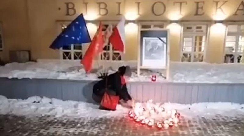 2 rocznica zabójstwa Pawła Adamowicza - Olsztyn 14.02.2021