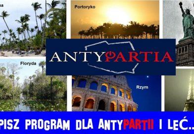 Napisz program dla Antypartii
