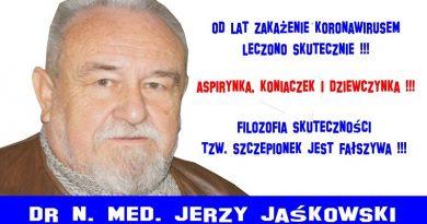 Aspirynka, koniaczek i dziewczynka - Jerzy Jaśkowski