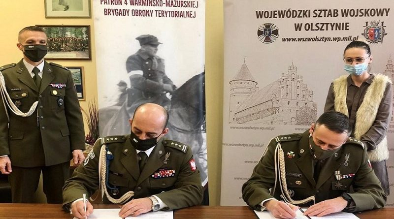 Porozumienie Terytorialsów z WSzW - fot. 4.WMBOT