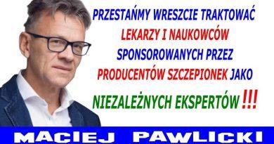 Maciej Pawlicki - Konflikt interesów