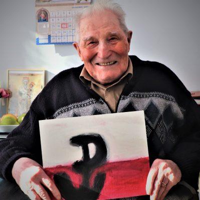 Mjr Józef Rusak - 101 urodziny żołnierza AK