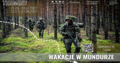 Wakacje z WOT - Wakacje w mundurze - fot. WOT