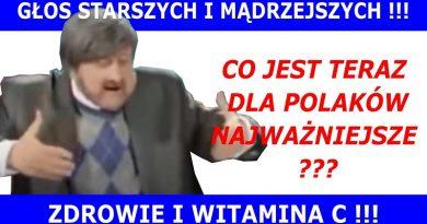 Najważniejsze dla Polaków