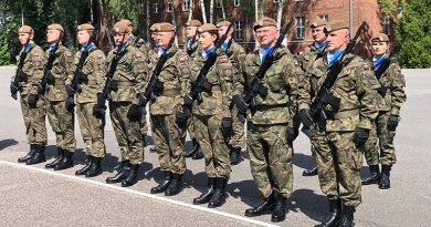Terytorialsi obchodzą Święto Wojska Polskiego - 2021