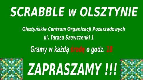Scrabble w Olsztynie - Zapraszamy